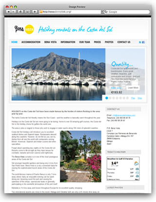 Bena Vista Costa del Sol Holiday Rentals